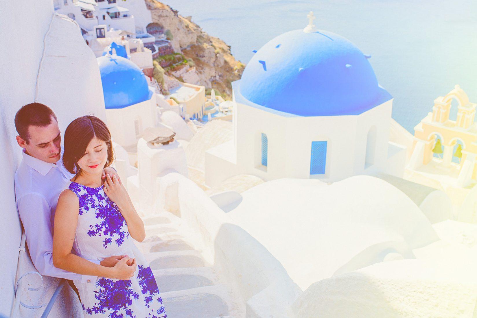 Anastasios Filopoulos Wedding Photography-Jo & Xavier | PreWedding Couple Session in Santorini