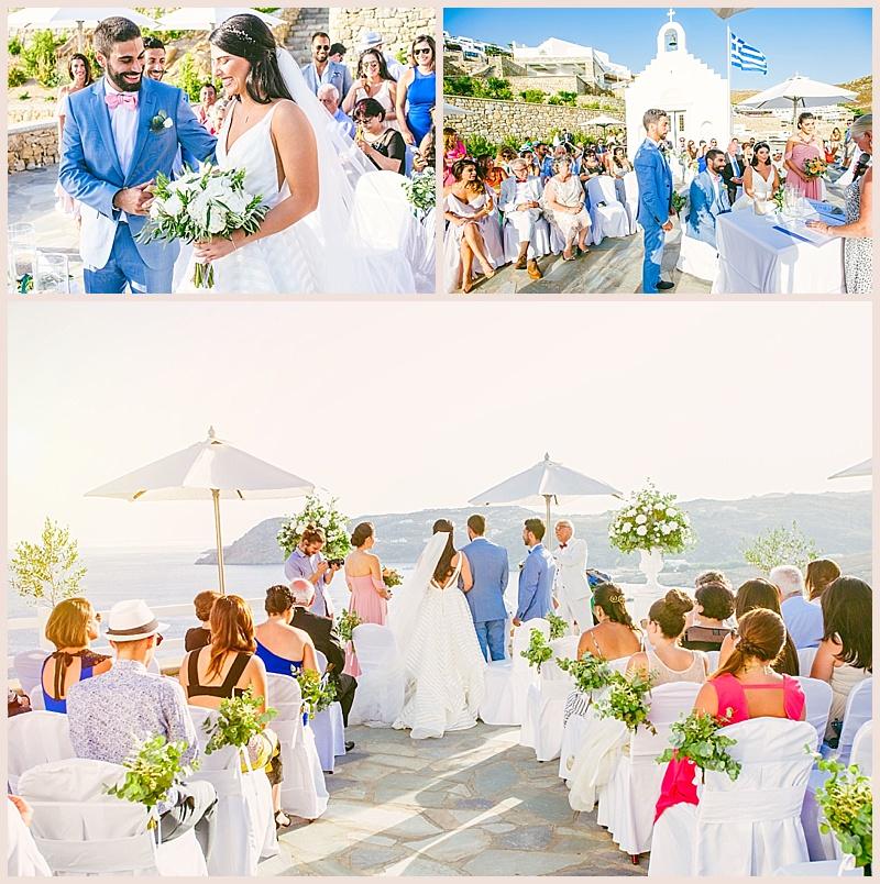 lebanese wedding in alemagou beach mykonos