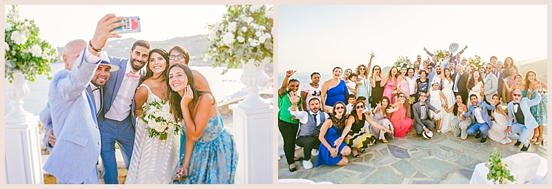 lebanese wedding in alemagou beach mykonos