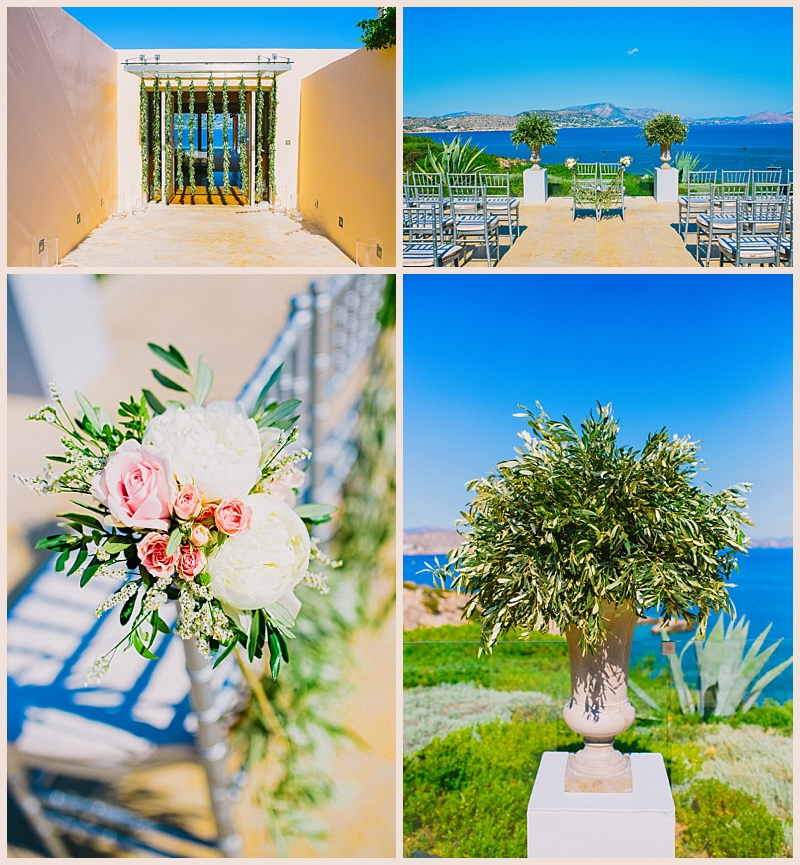 Wedding in Island Athens Riviera