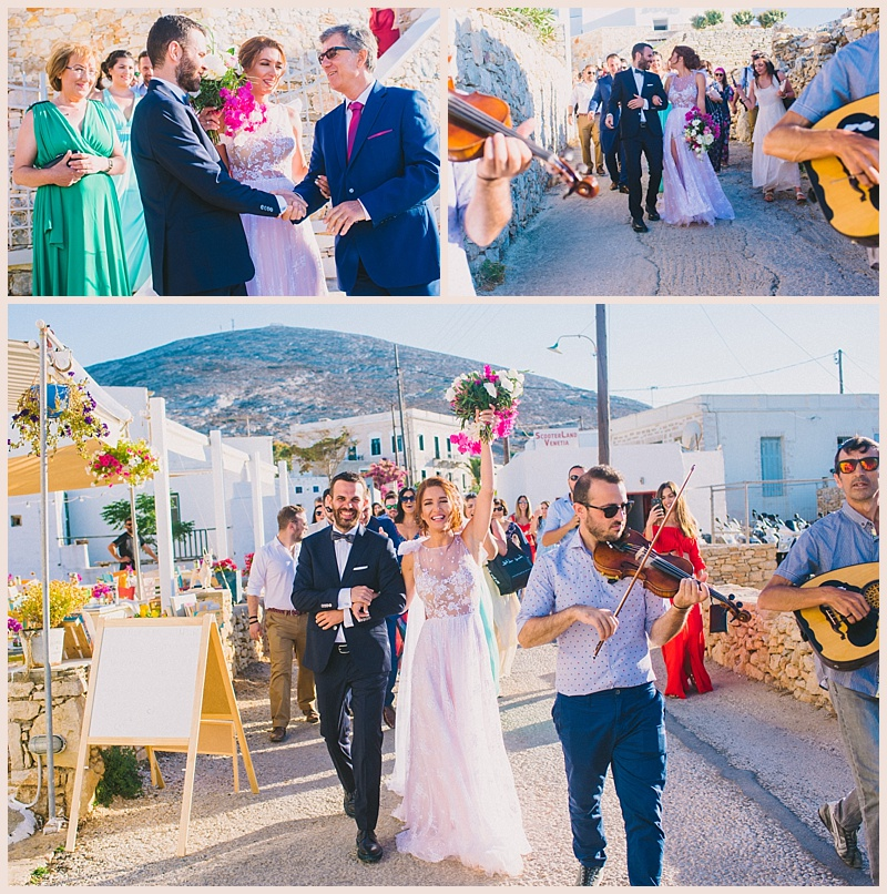 Wedding in Folegandros