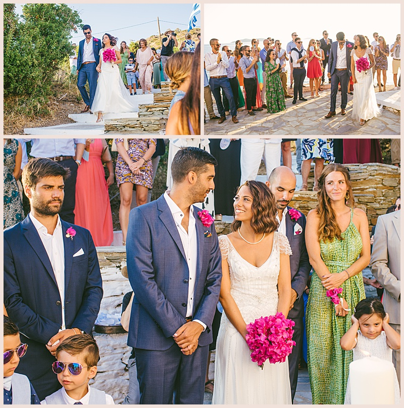 wedding in andros